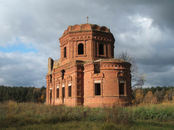 Покровский храм села Дуброво